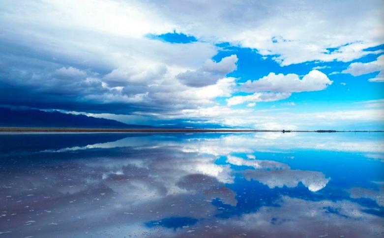 茶卡盐湖——天空之境