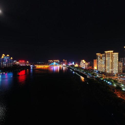吉林市松花江之夜